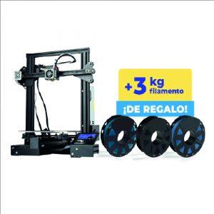 Impresora 3D Creality Ender 3 PRO + 3KG filamento Printalot